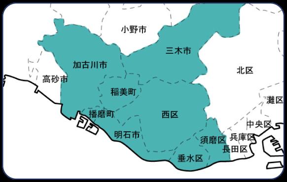 amo営業エリア地図