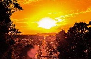 ☆宮地嶽神社「光の道」☆